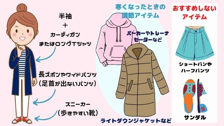 WDW冬の服装