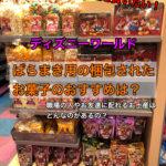 ディズニーワールドのお土産でおすすめのばらまき用や個包装してあるお菓子は?お店の場所は?