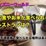ディズニーワールドのレストランで日本食やお米メニューはあるの?安くお手頃で食べられる和食は?